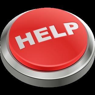 [Imagem ilustrando botão de ajuda para o suporte de TI]