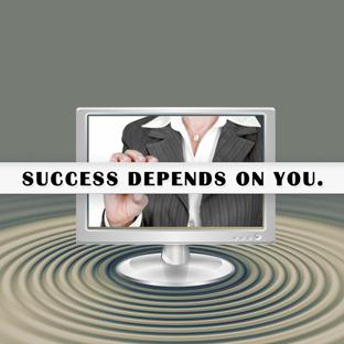 [Imagem ilustrando que o sucesso depende de você publicar seu negócio]